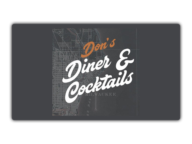 $25 Gift Card for Only $15 | Don's Diner & Cocktails