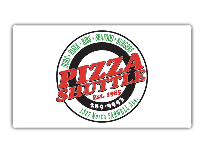 $25 Gift Card for Only $12.50 | Pizza Shuttle