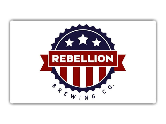 $25 Gift Card for Only $12.50 | Rebellion Brewing
