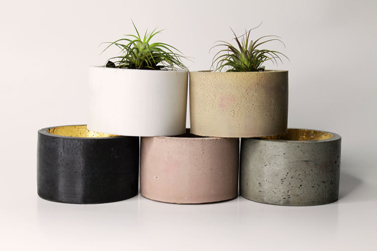 Concrete Small Round Catchall