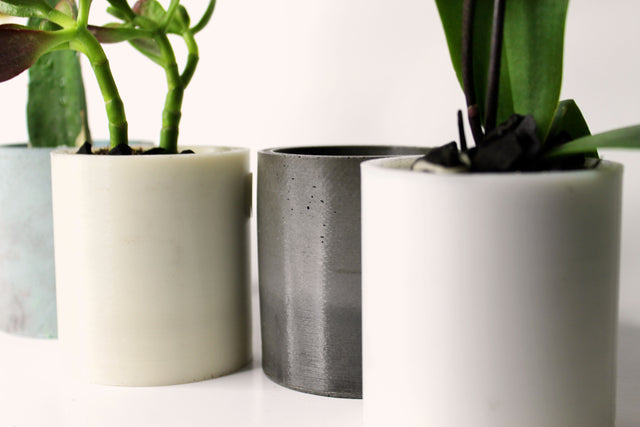 3D Printed Short Cylinder Planter