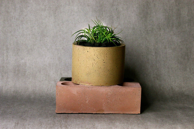 Concrete Big Round Catchall
