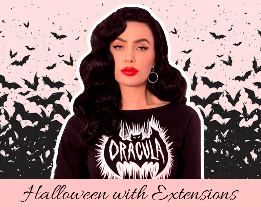 Halloween Hairstyles with Extensions