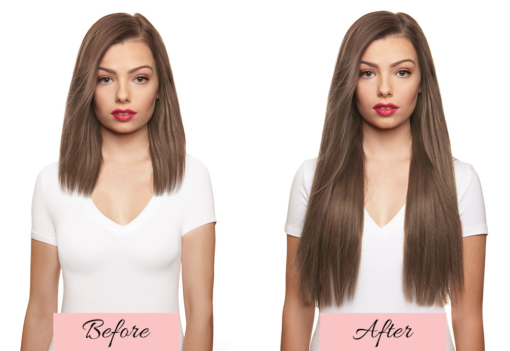 thin hair extensions before and after, how long does your hair have to be for extensions, hair extensions before after