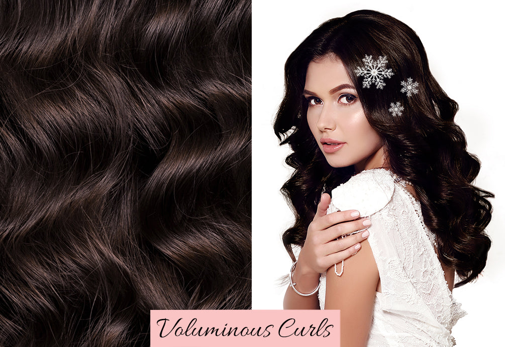 festive hair, dark brown hair extensions, short to long hair extensions, where to buy extensions