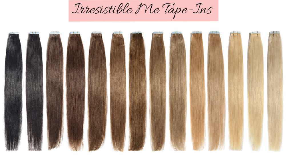 tape in human hair extensions, affordable tape in hair extensions, tape in extensions for thin hair