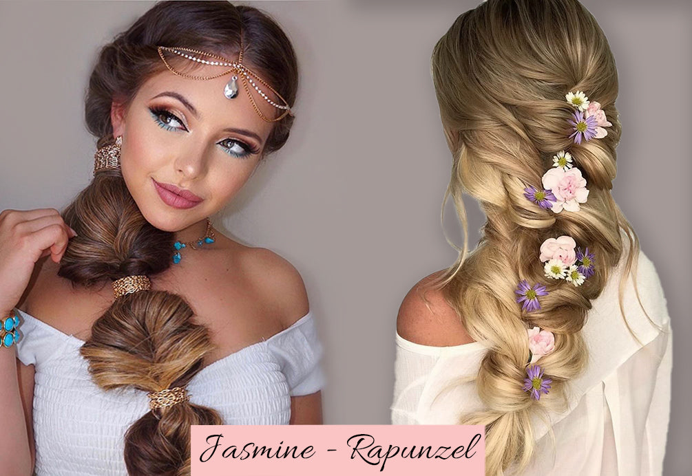 best human braiding hair, clip in braid hair extension, ponytail with extensions