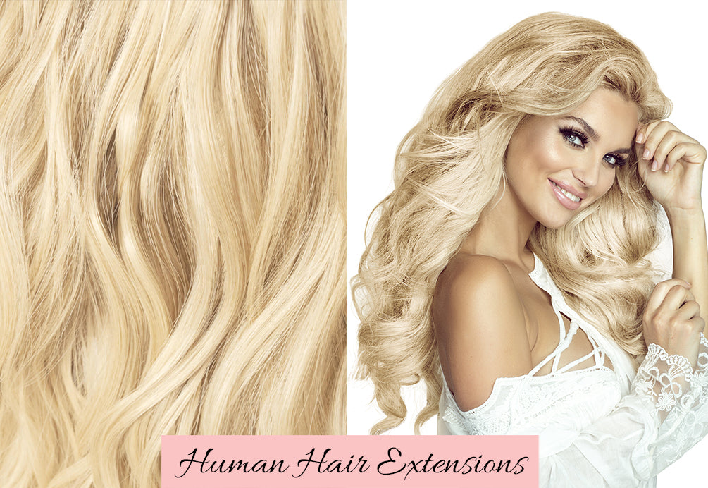 long hair extensions, long blonde hair extensions, platinum blonde hair extensions