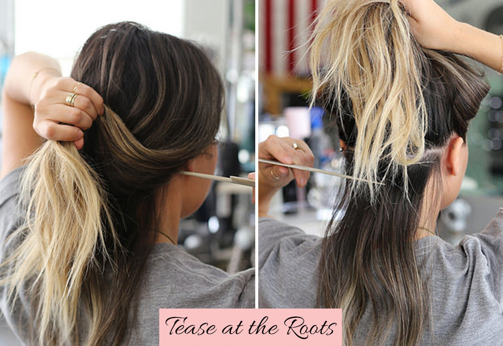 how to put in clip in hair extensions for thin hair, how to apply clip in hair extensions, how to put in hair extensions