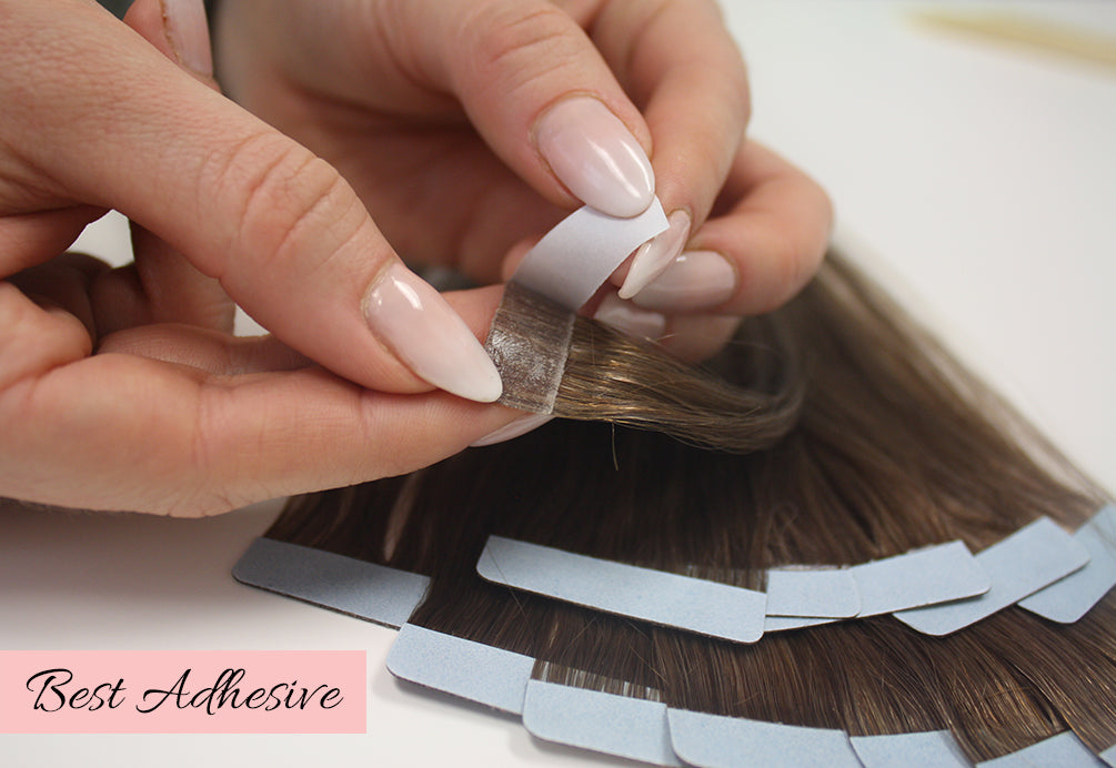 how to apply tape in extensions, how to remove tape in extensions, retaping hair extensions