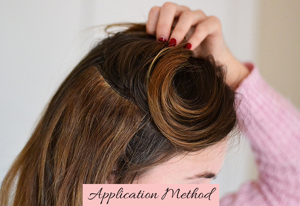 how to attach hair extensions, how to apply tape in extensions, how to apply clip in hair extensions