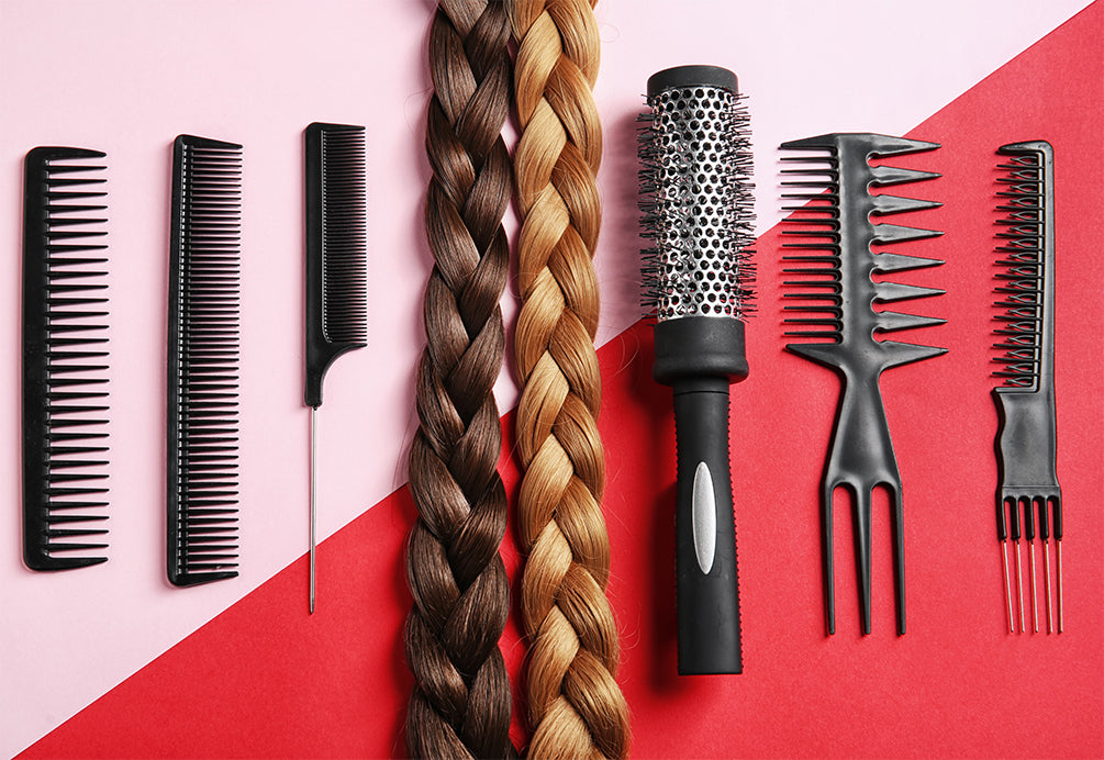 how to curl your hair extensions heat-free, applying hair extensions in curly hair