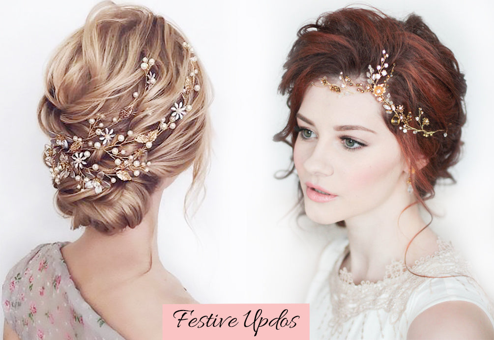 christmas themed hair, natural hair updo with extensions, easy updo extensions, how to do an updo using extensions