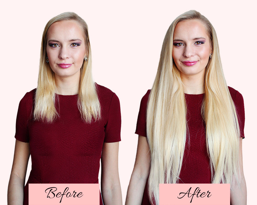 thin hair extensions before and after, clip in hair extensions for thin hair before and after, hair extensions before and after thin hair