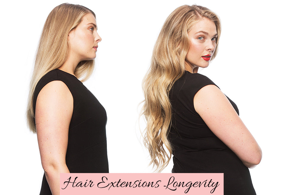 hair extensions before and after, how long do hair extensions last, where to get hair extensions