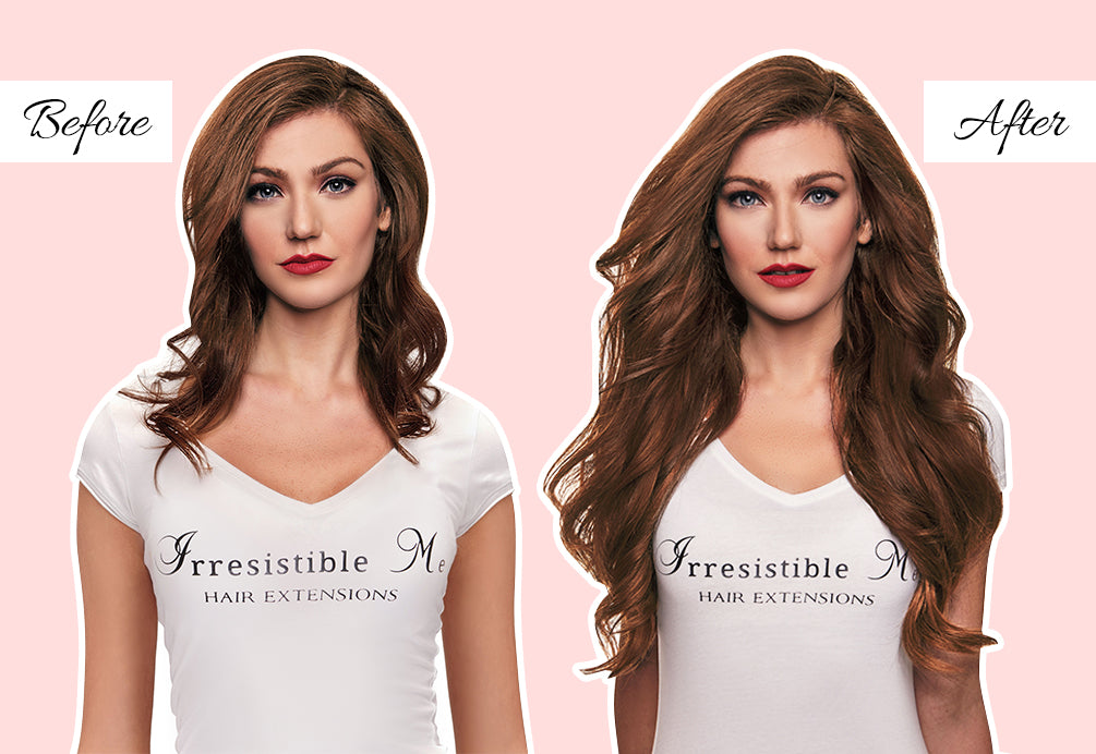 long hair extensions before and after, what are the best clip in hair extensions