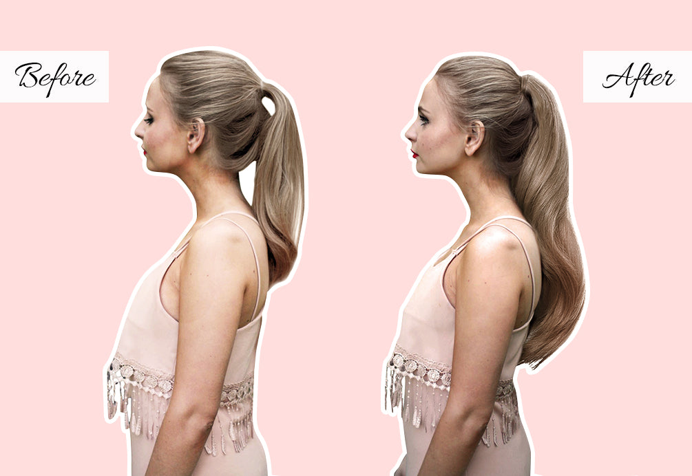 cheap ponytail extensions, long clip in ponytail, clip in ponytail hairpieces