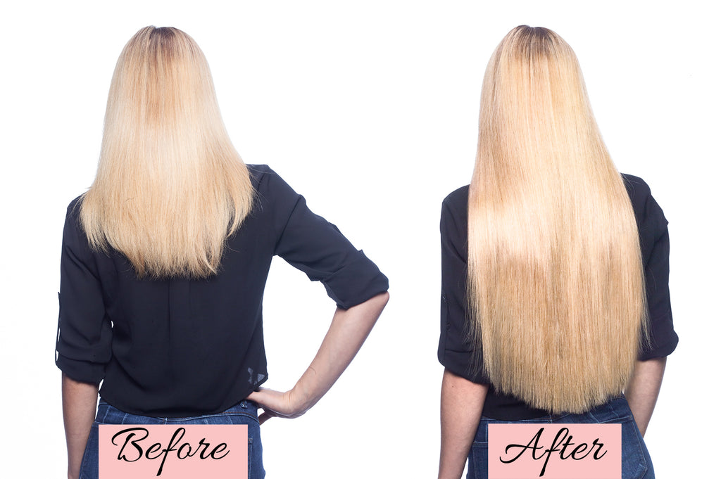 thin hair extensions before and after, clip in hair extensions for thin hair before and after, how to put in clip in hair extensions for thin hair