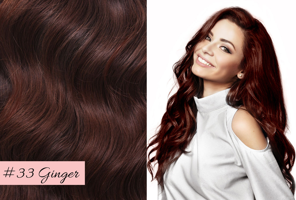 Irresistible Me ginger hair extensions, best red hair extensions, how to choose the color for your hair extensions