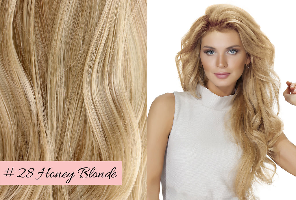 Irresistible Me honey blonde hair extensions, picking the right blonde shade for your extensions