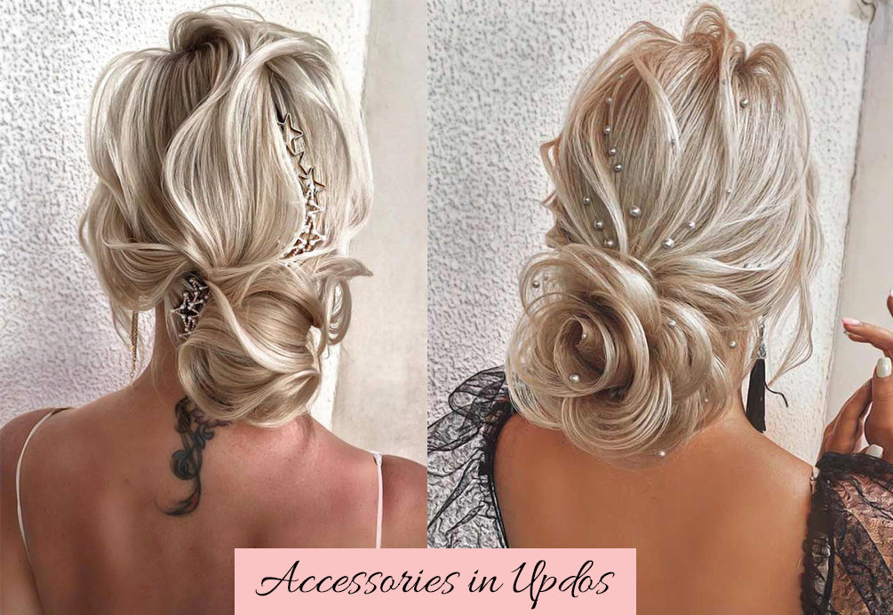 best hair extensions for updos, how to do an updo with extensions, easy valentines hair