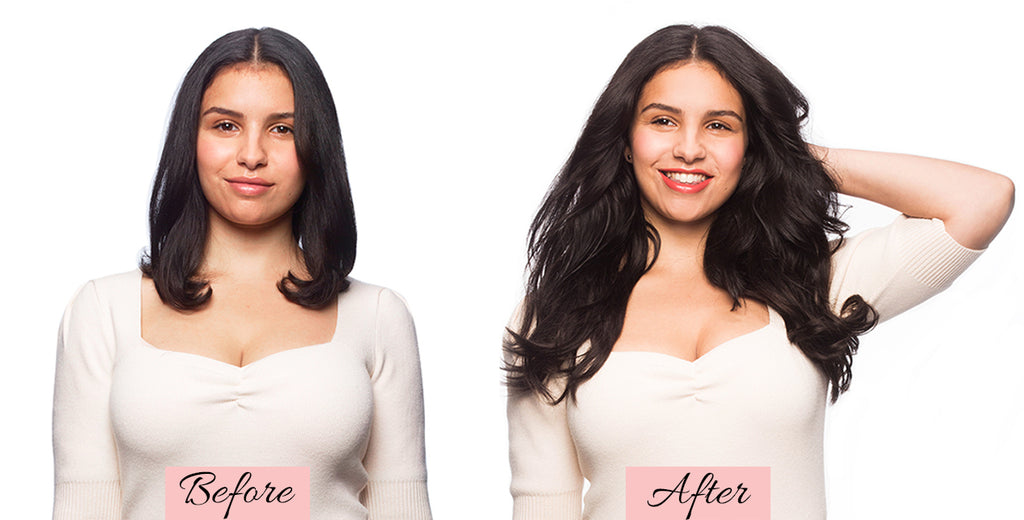 short hair extensions before and after, clip in hair extensions for short hair before and after, clip in hair extensions before and after