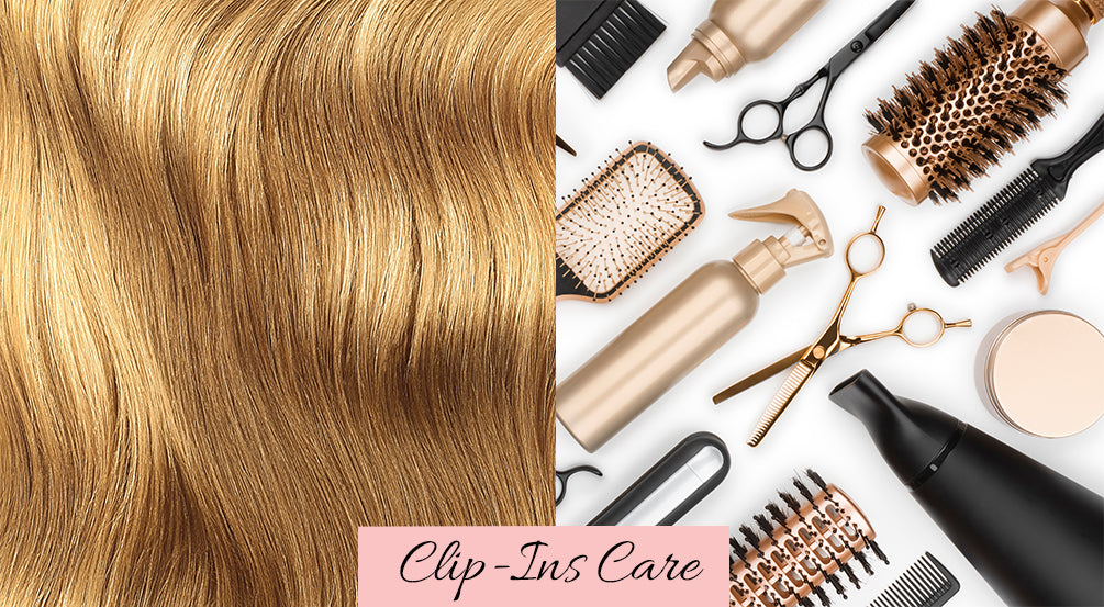 how to take care of human hair extensions, how to take care of clip in hair extensions