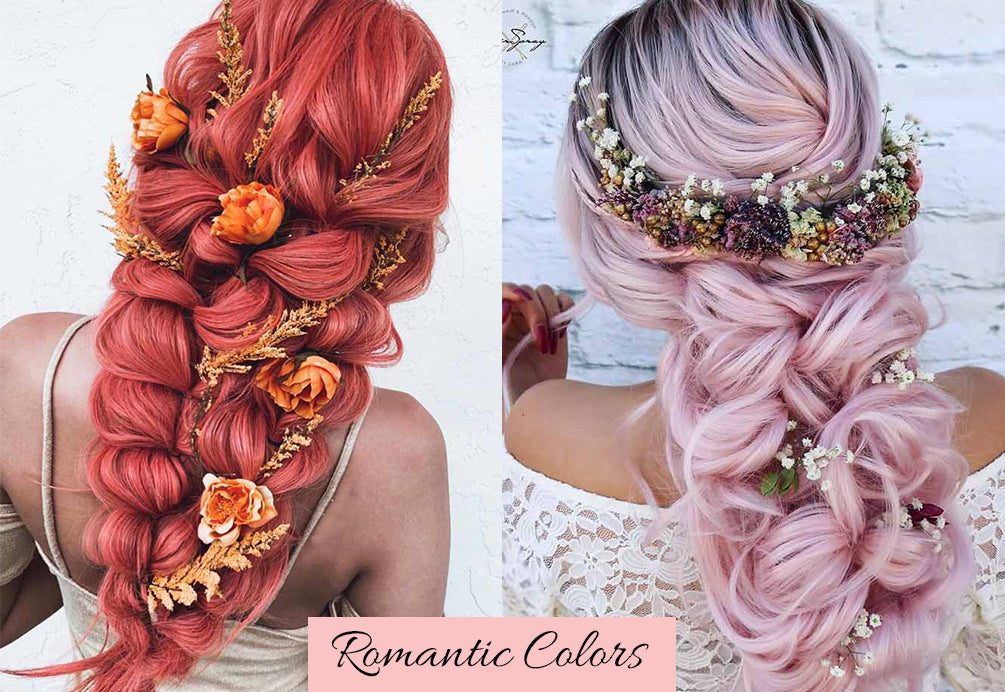 valentine's day hair color, how to color hair extensions, hair extensions coloring