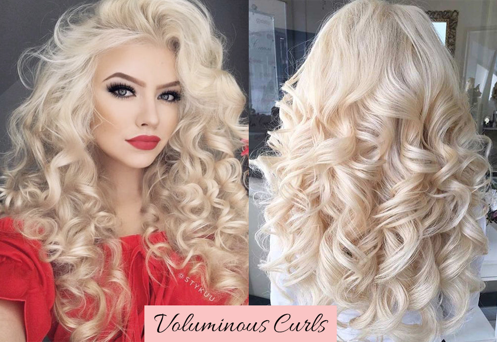 valentine's day hairstyles for long hair, how to curl your hair with a flat iron, how to curl clip in hair extensions