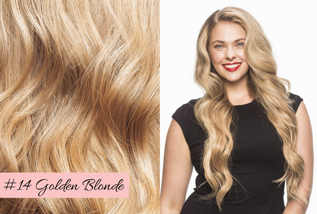 Irresistible Me golden blonde hair extensions, blonde hair extensions, how to choose the right blonde hair extensions