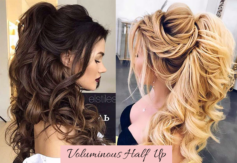 half up half down with clip in hair extensions, half up half down hair clip, happy valentines day hair