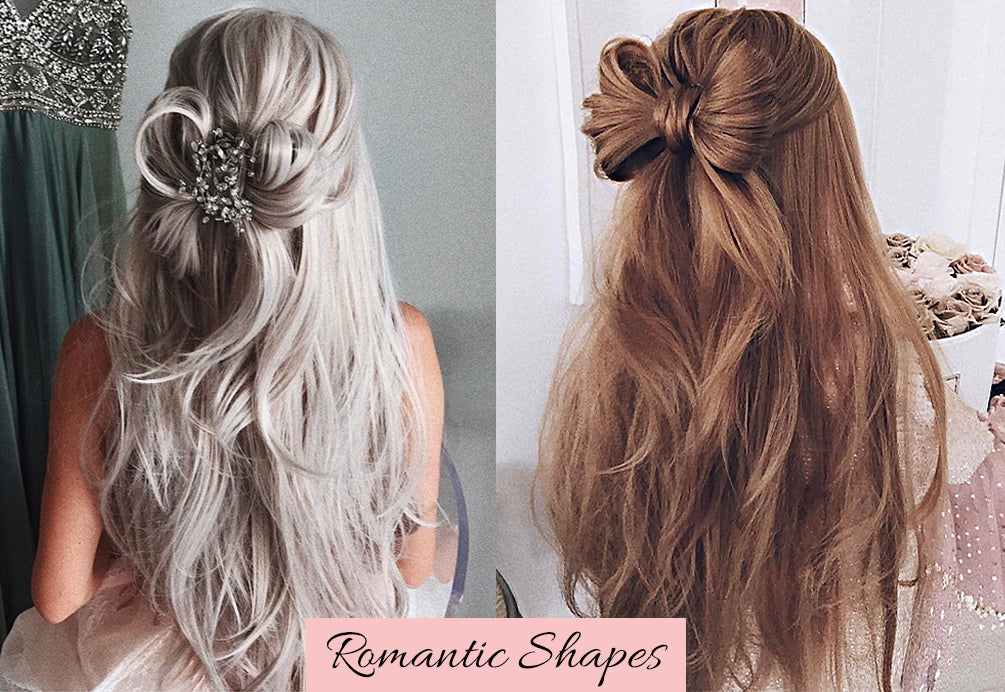 half up half down clip ins, cute hairstyles for valentine's day, hair for valentine's day