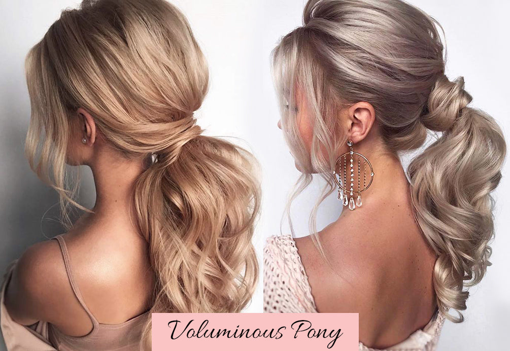 human hair ponytail extension, blonde ponytail extension, valentine's day hairstyles for school