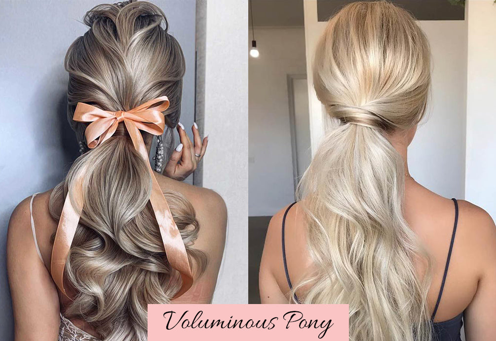 cute hairstyles for valentine's day, natural hair ponytail extension, real hair ponytail extension