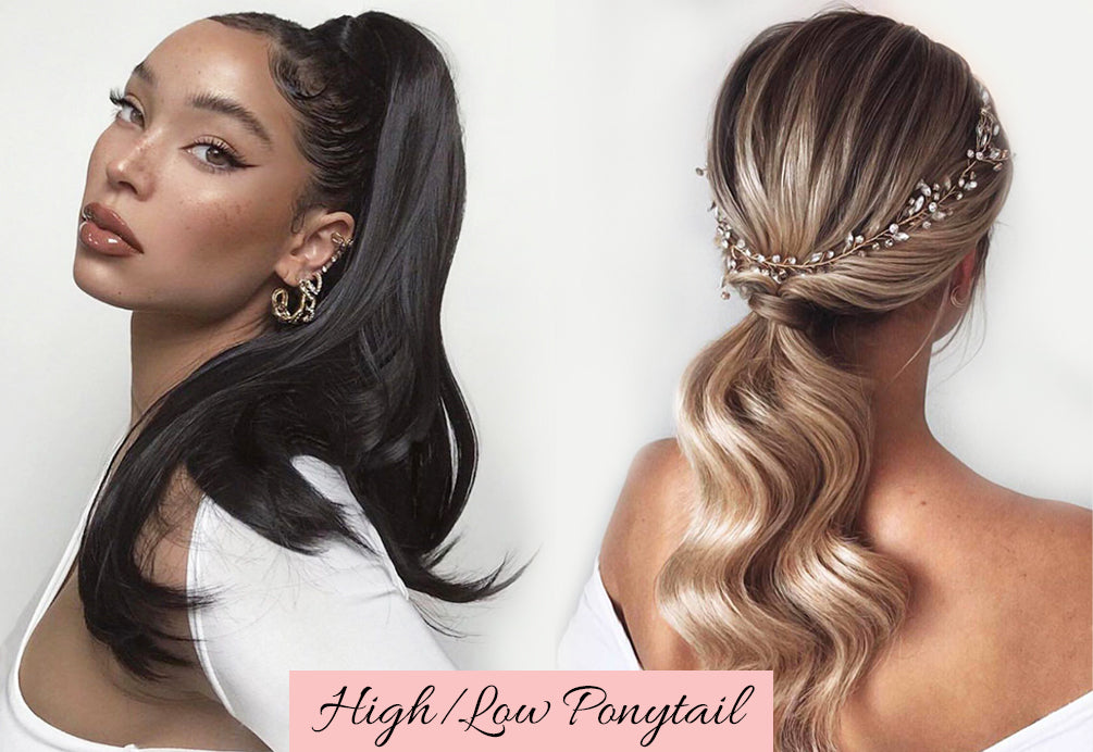 valentines hair ideas, natural hair ponytail extension, clip in ponytails