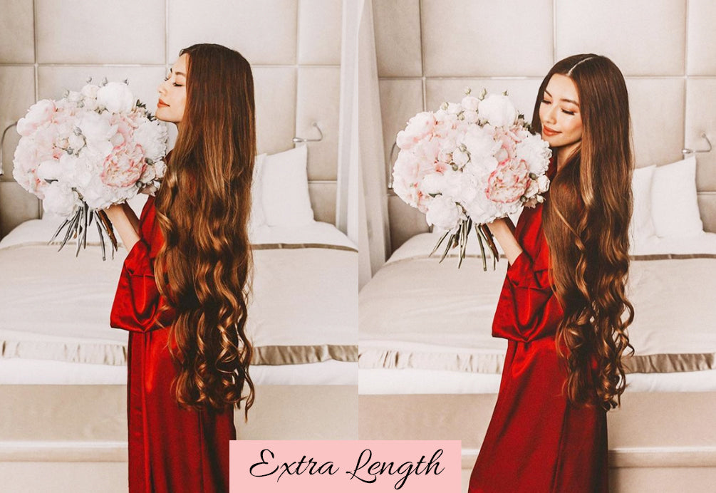 valentine's day hairstyles for long hair, long clip in hair extensions, longest lasting hair extensions