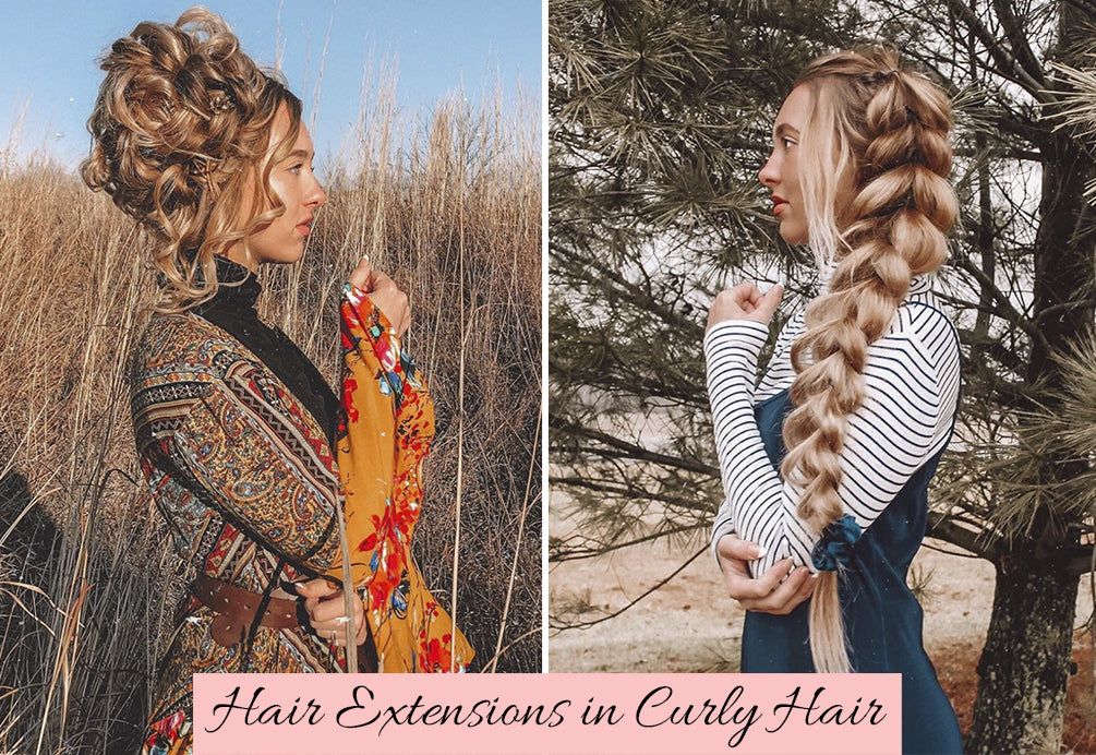 how can you blend hair extensions in natural curls, hairstyles for curly hair extensions