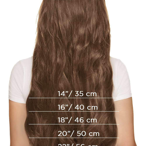 Full Lace Wig - Light Brown (#6)