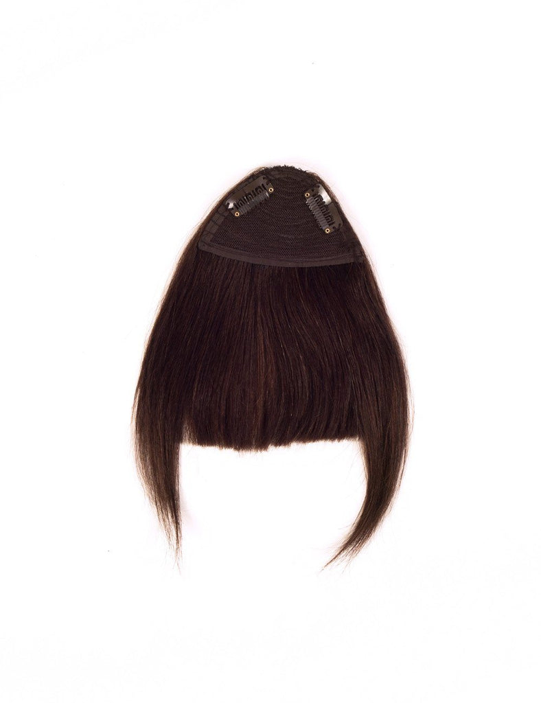 Hair Bangs - Chocolate Brown (#2)