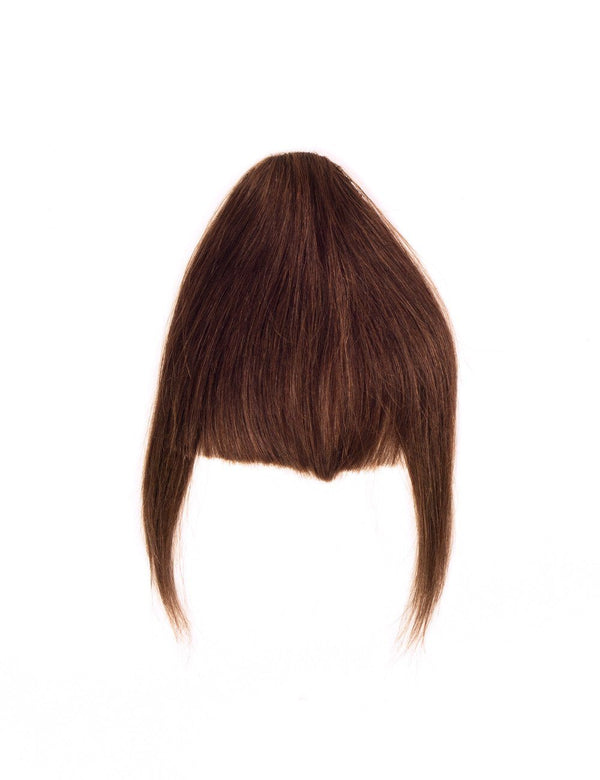 Hair Bangs - Medium Brown (#4)