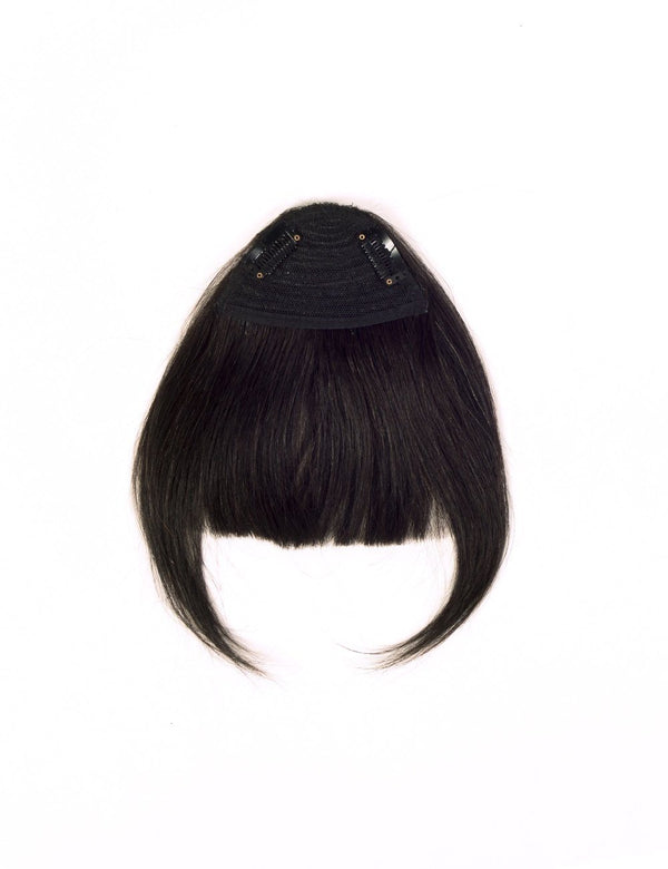 Hair Bangs - Natural Black (#1B)