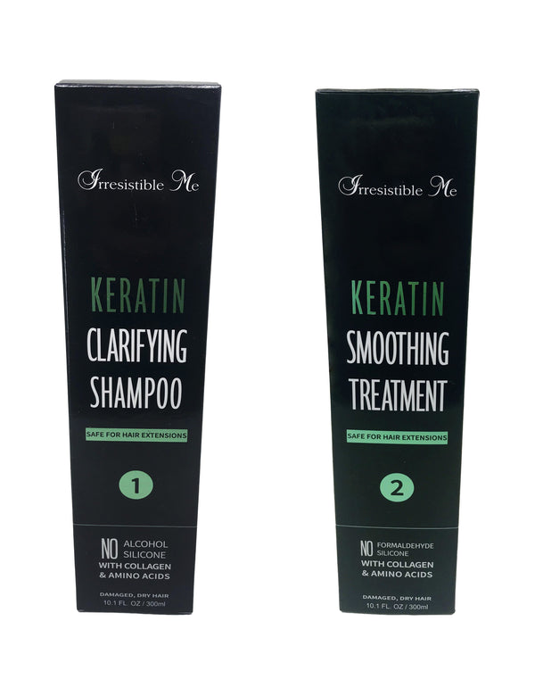 Keratin Clarifying Shampoo & Treatment Pack