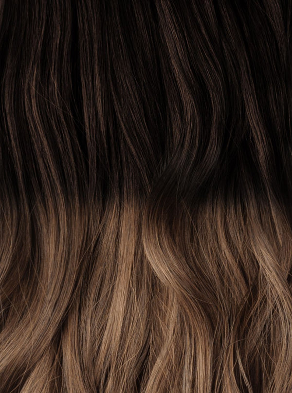 Royal Ombre Chocolate Brown (#2) - Light Brown (#6)