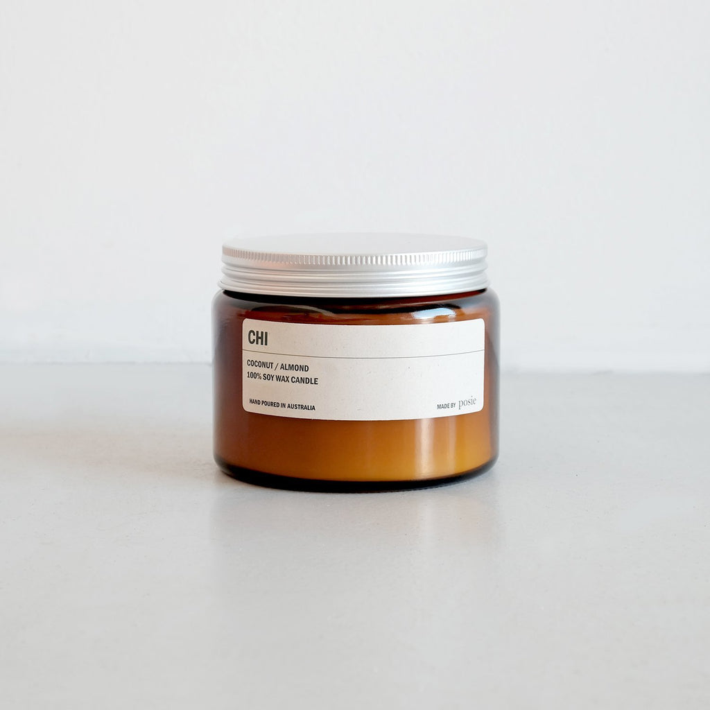 Amber Jar Soy Candle CHI