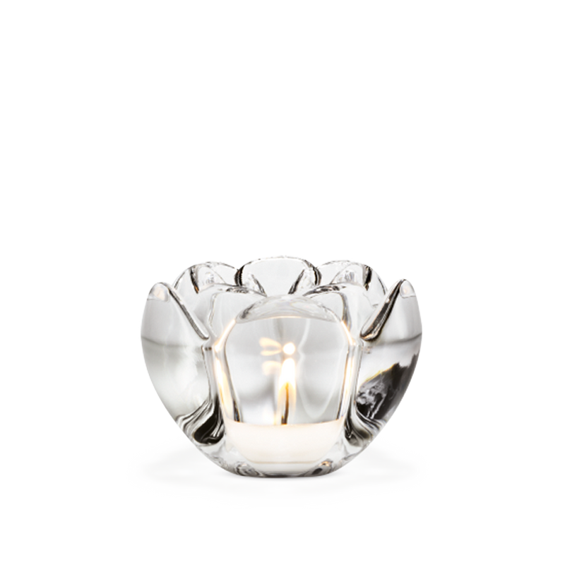 Lotus Tealight Holder Clear H7 - Poland