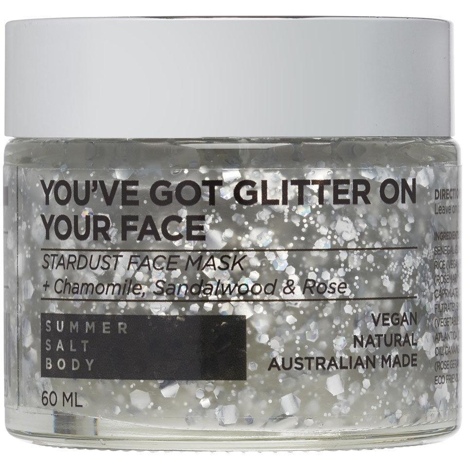 You've Got Glitter On Your Face - Stardust Face Mask 50ml (Comes with Mini Application Brush)