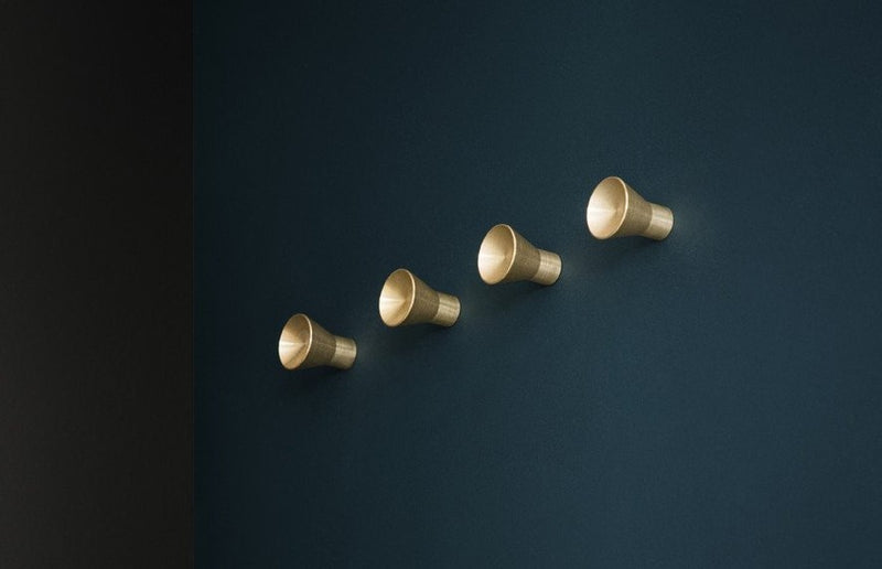 KBH Knob Brass Small (4 pieces)
