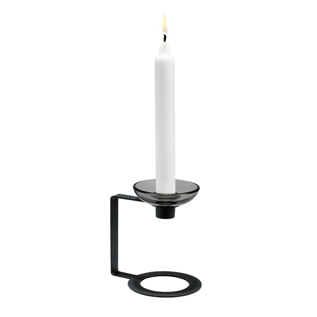 Lumi Candle Holder Black H12,5 - China