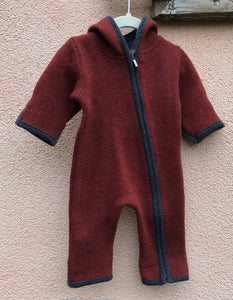 Overall Donnerstein Lambswool Double Walk rot