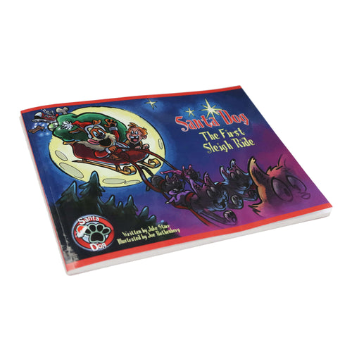 Santa Dog 58-Page Illustrated Book